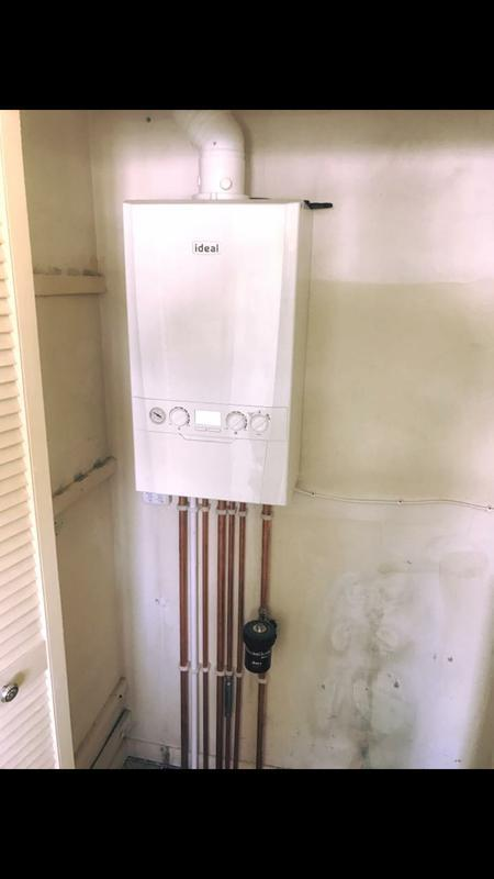 Image 4 - New boiler installation