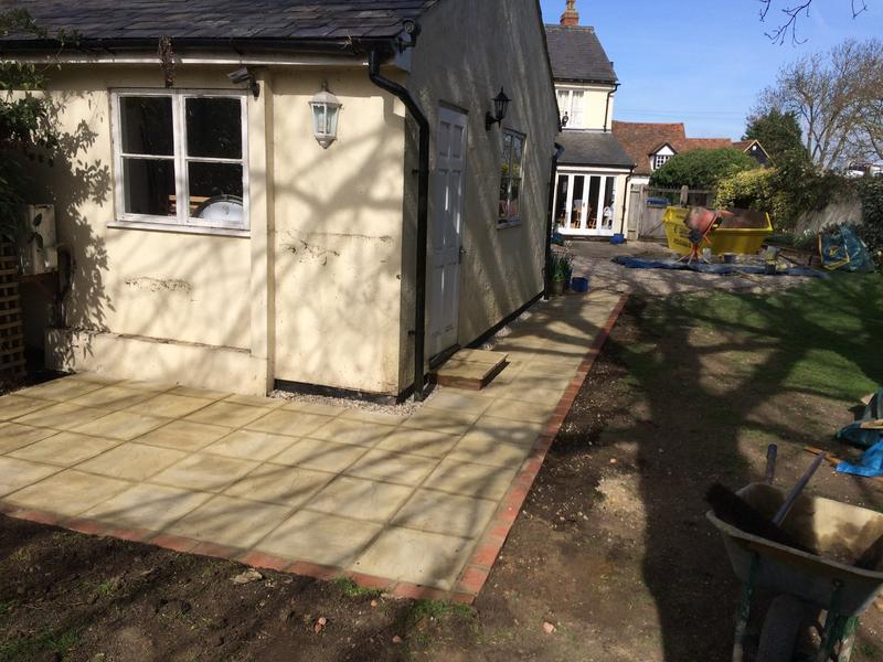 Image 39 - Patio fitting by DKM Developments Ltd, builders, Great Dunmow, Essex.