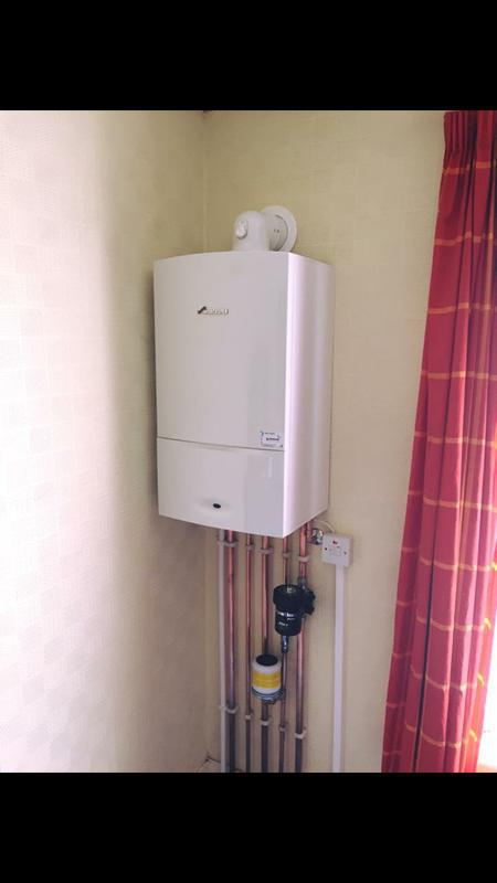 Image 2 - New boiler installation