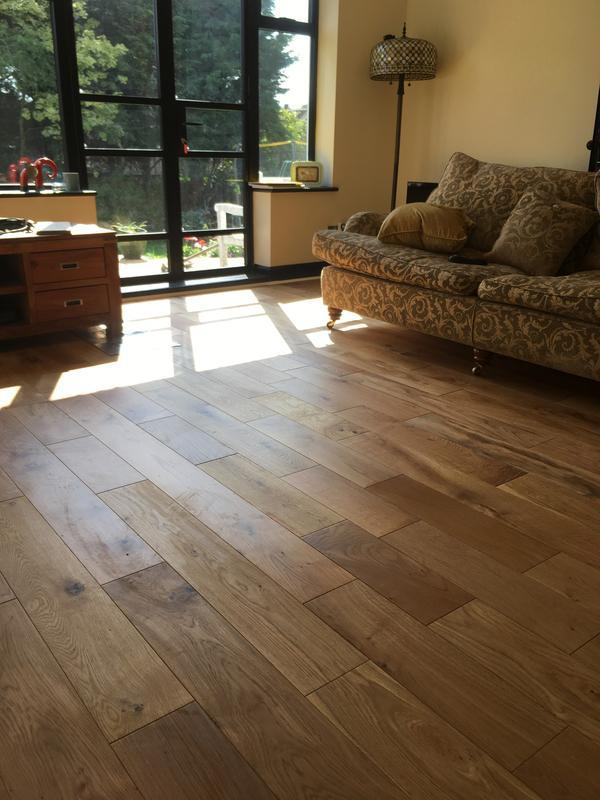 Image 8 - engineered oak rustic