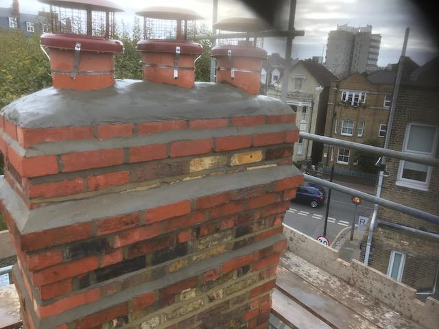 Image 126 - Fully re-built chimney stack