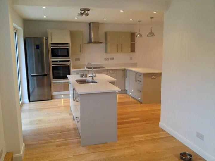 Image 8 - Complete kitchen, flooring and electrical works, plastering and decorating completed by us.