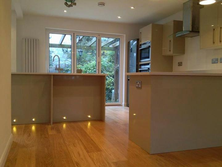 Image 7 - Complete kitchen, flooring and electrical works, plastering and decorating completed by us.