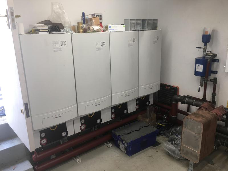 Image 41 - Complete re- plumb & commercial boiler installation at 65 bed Carehome