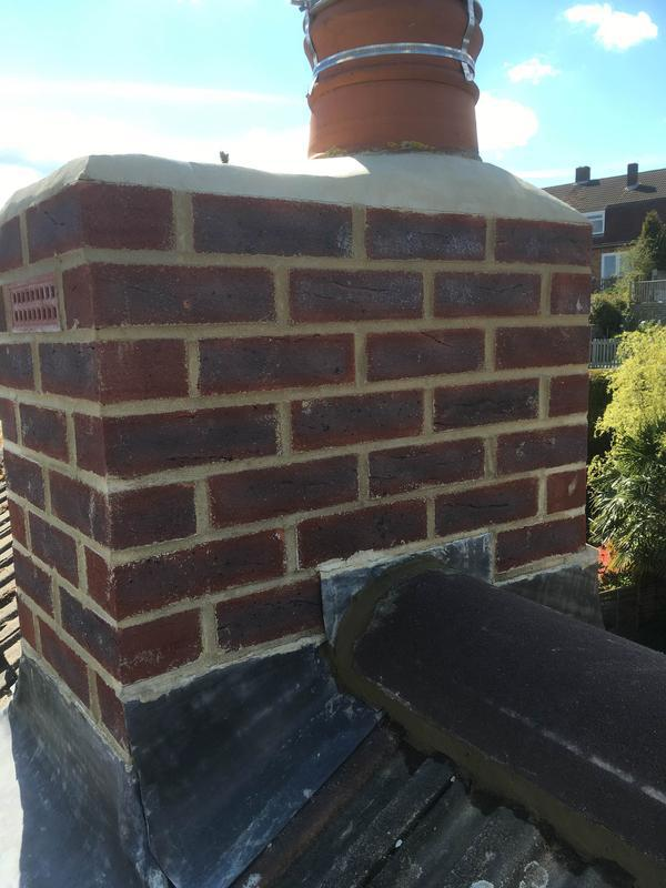 Image 30 - Chimney rebuild