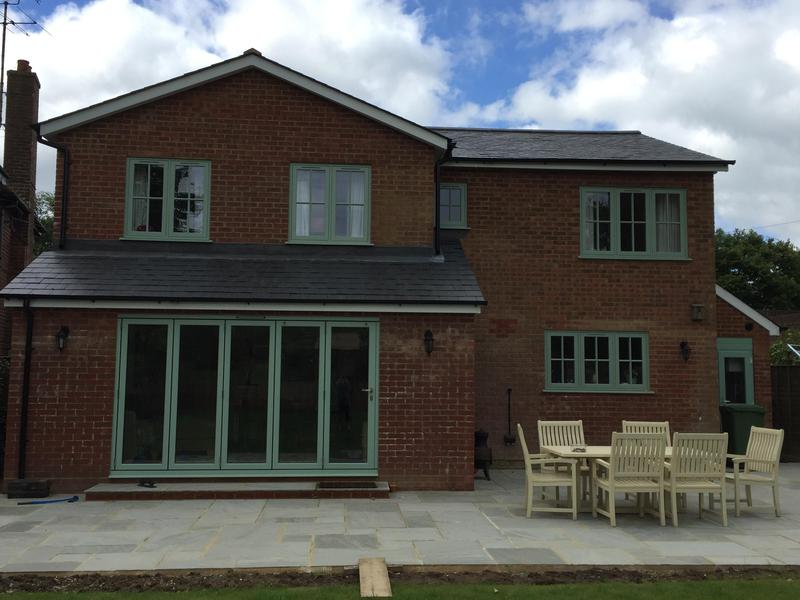 Image 19 - Two storey rear extension.