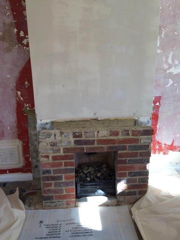 Image 15 - Fireplace at the start of the day