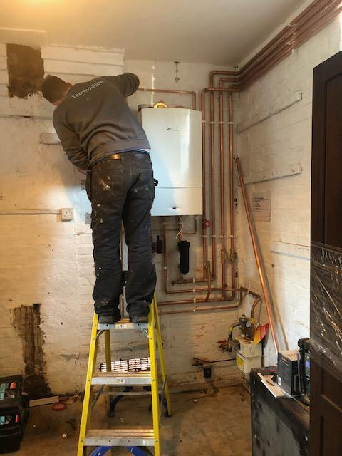 Image 22 - A new Worcester Bosch 40CDi for a customer in Chatteris.