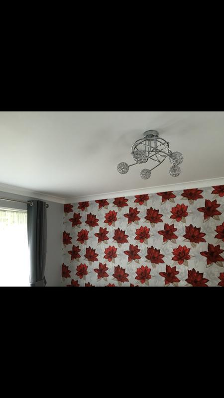Image 4 - Wall papering & new coving