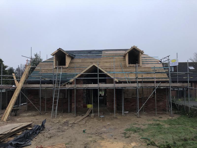 Image 28 - new build in progress
