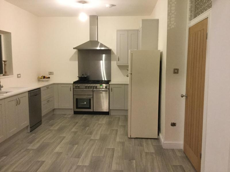 Image 28 - New kitchen after refurb. We only carry out electrical works.