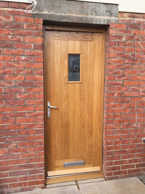 Image 51 - 067.Oak front door