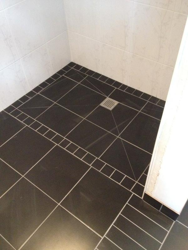 Image 97 - Tile on Wetroom Showertray