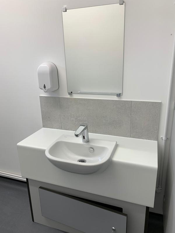 Image 23 - Foots Cray Baptist church toilets