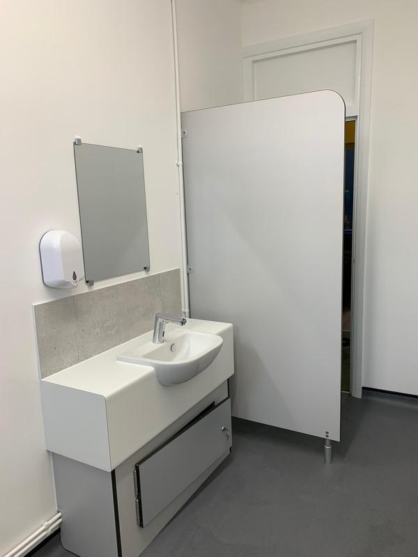 Image 24 - Foots Cray Baptist church toilets