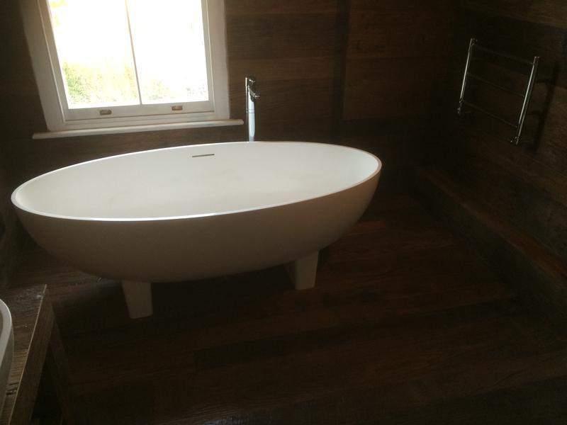 Image 17 - Canterbury Rd free standing bath with underfloor heating