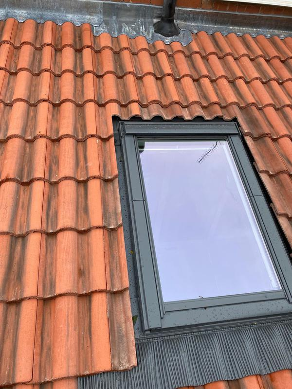 Image 15 - Rear Extension Roof with added Velux Skylight, completed October, Wyken,