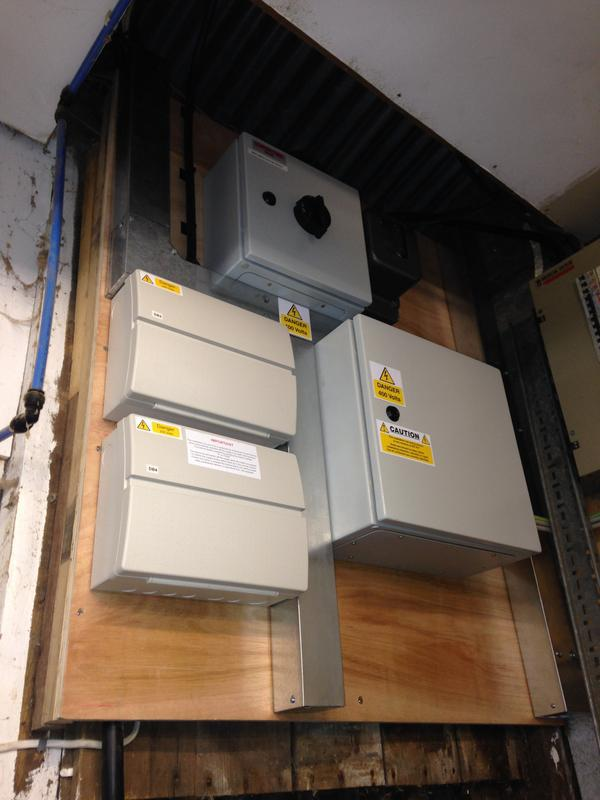 Image 8 - Consumer units and Contactors Installed in a Commercial premises