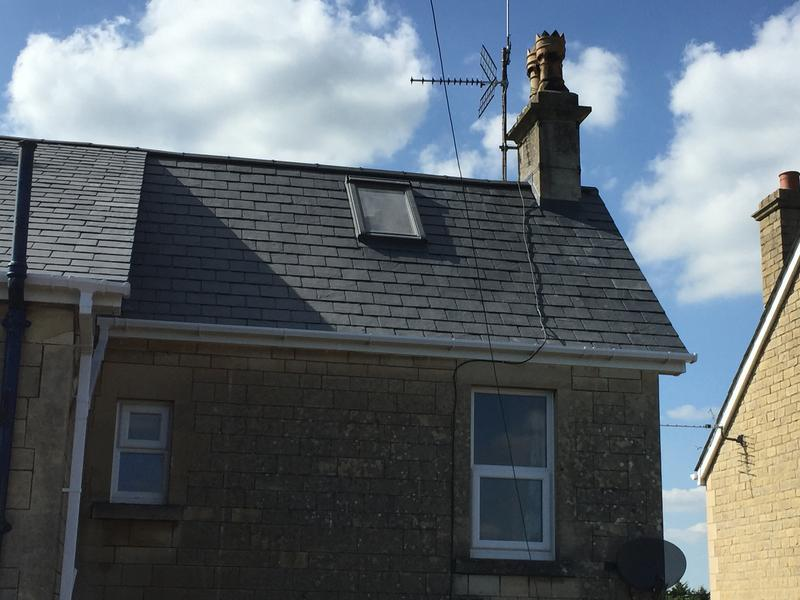 Image 3 - Slate re roof complete