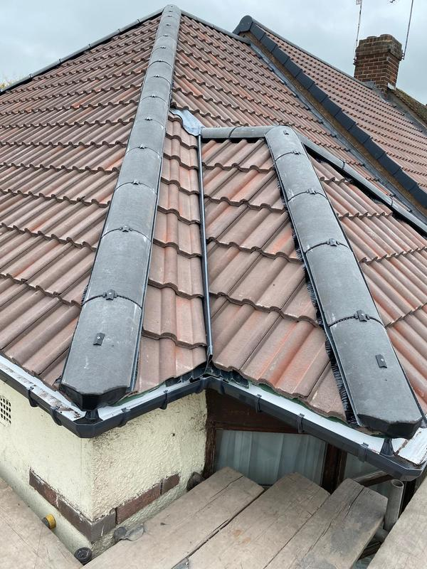 Image 18 - Main Roof Ridge Tile Replacement, completed October, Allesley.