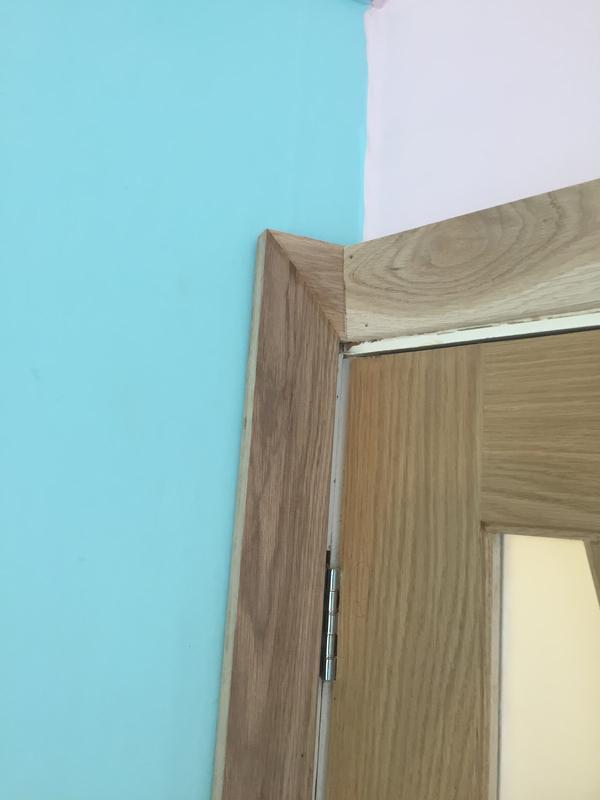 Image 123 - Oak door and architrave