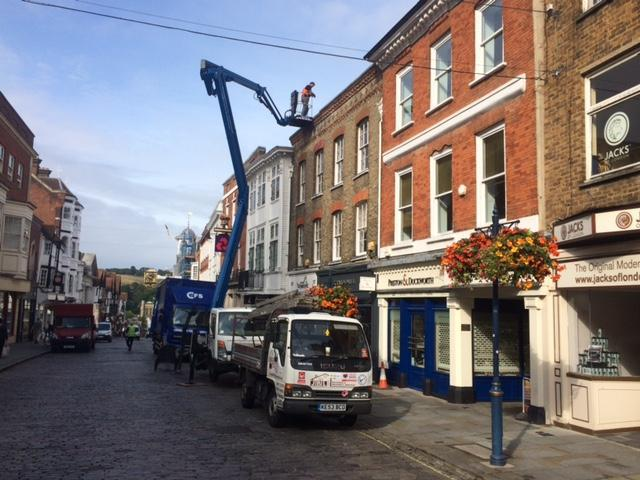 Image 62 - Roof repairs to a Guildford High Street Retailer