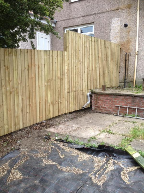Image 39 - 6ft Feather Edge Fencing