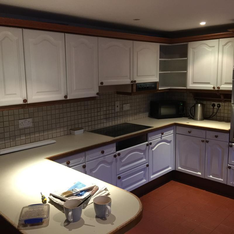 Image 19 - Kitchen cupboards after