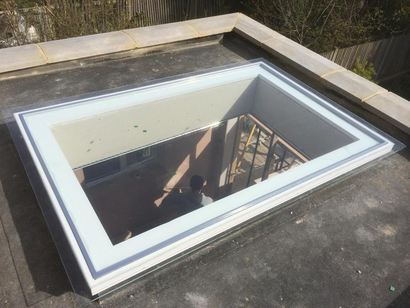 Image 33 - Constructed Skylight window