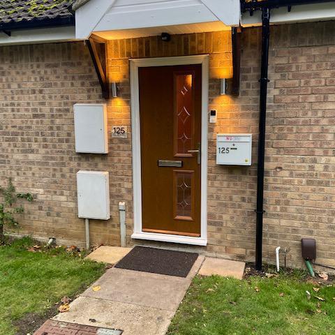 Image 3 - Composite door in Brown, Orton Peterborough