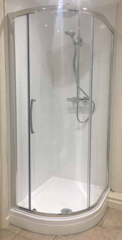 Image 165 - AFTER - Shower cubicle installed within a bathroom ASHFORD