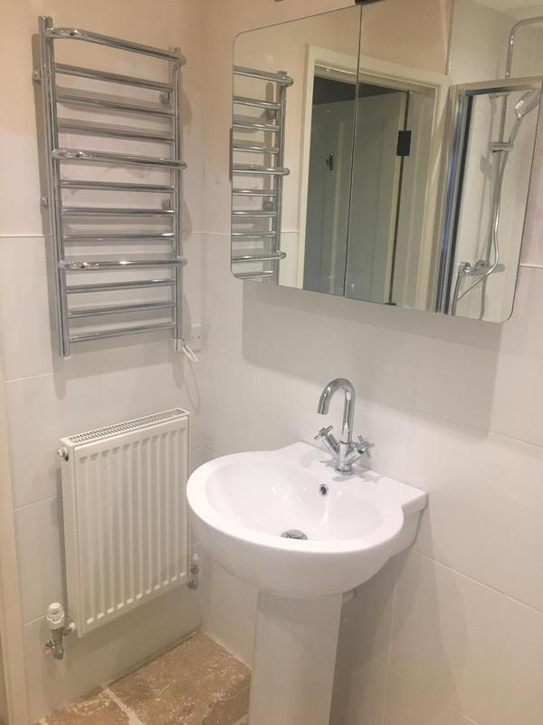 Image 159 - After - Bathroom to shower room renovation ASHFORD