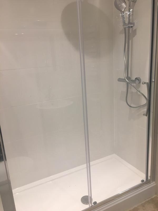 Image 161 - After - Bathroom to shower room renovation ASHFORD