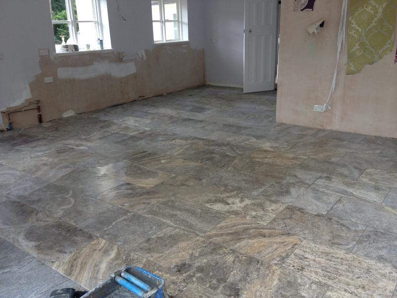 Image 23 - Silver Travertine Floor