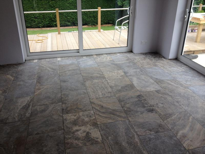 Image 25 - Silver Travertine Floor