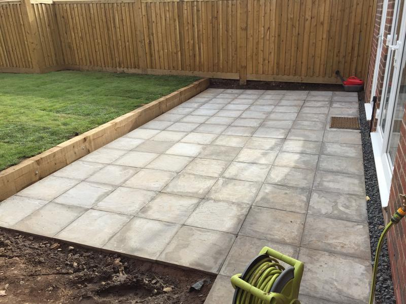 Image 83 - New build patio area and lawn