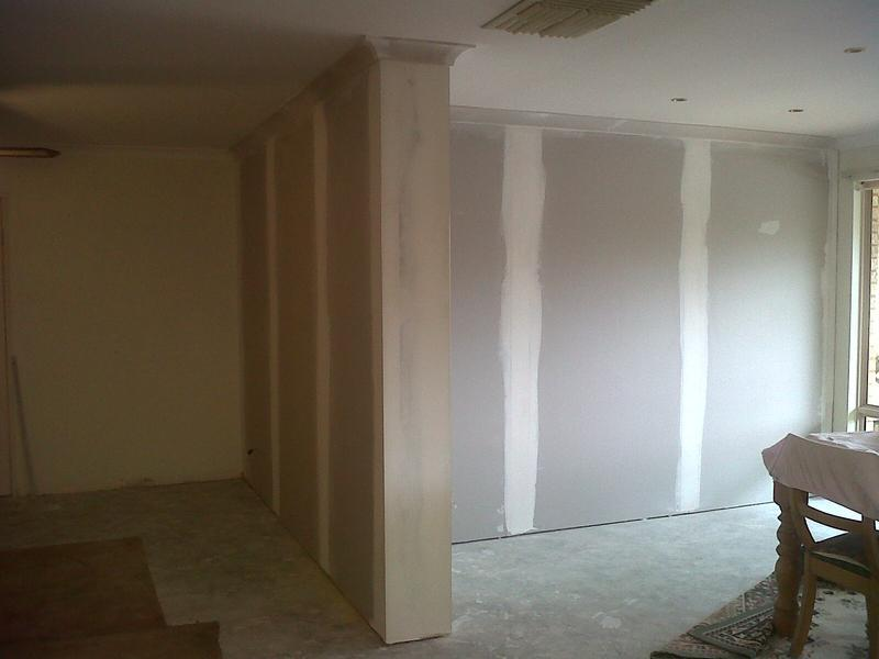 Image 7 - Tape & jointing, with coving