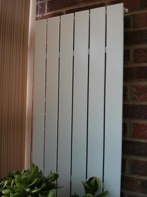 Image 3 - new slimline radiator fitted