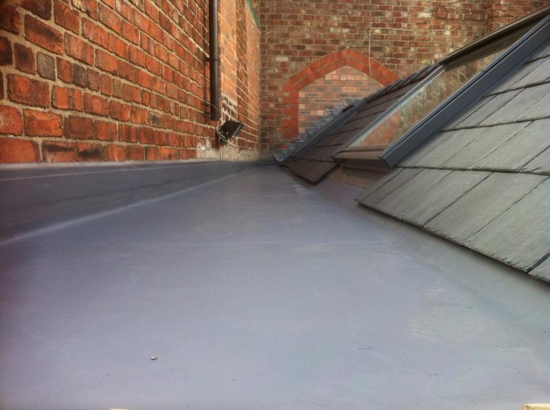 Image 68 - Slate and single ply membrane