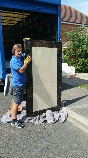 Image 20 - Moving a very heavy marble table