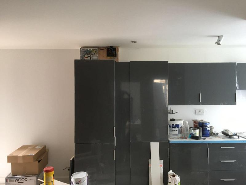 Image 5 - 100th kitchen being fitted in a full flat refurbishment