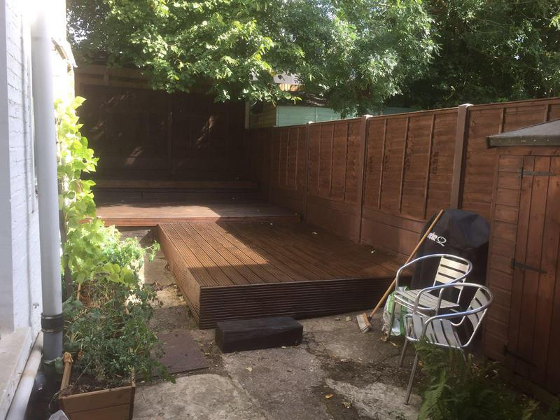 Image 12 - Badly neglected decking restored by us