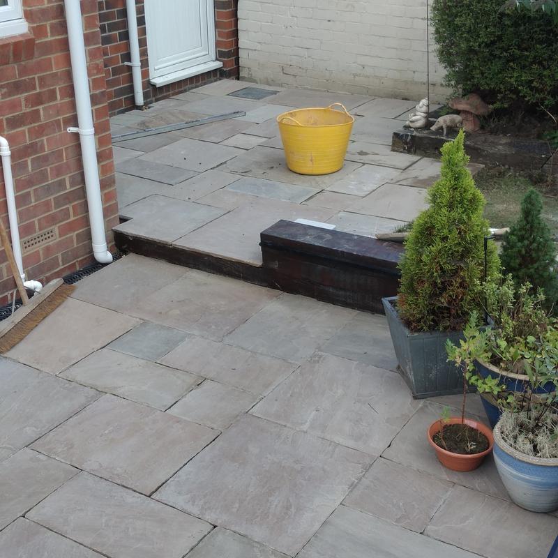 Image 6 - indian stone patio