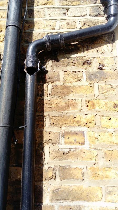 Image 3 - crack to downpipe orpington br5