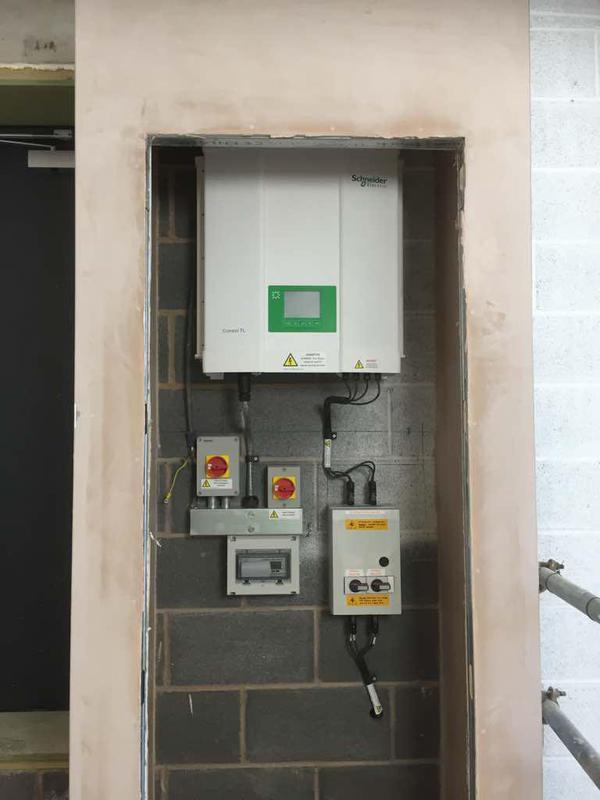 Image 46 - Solar installation