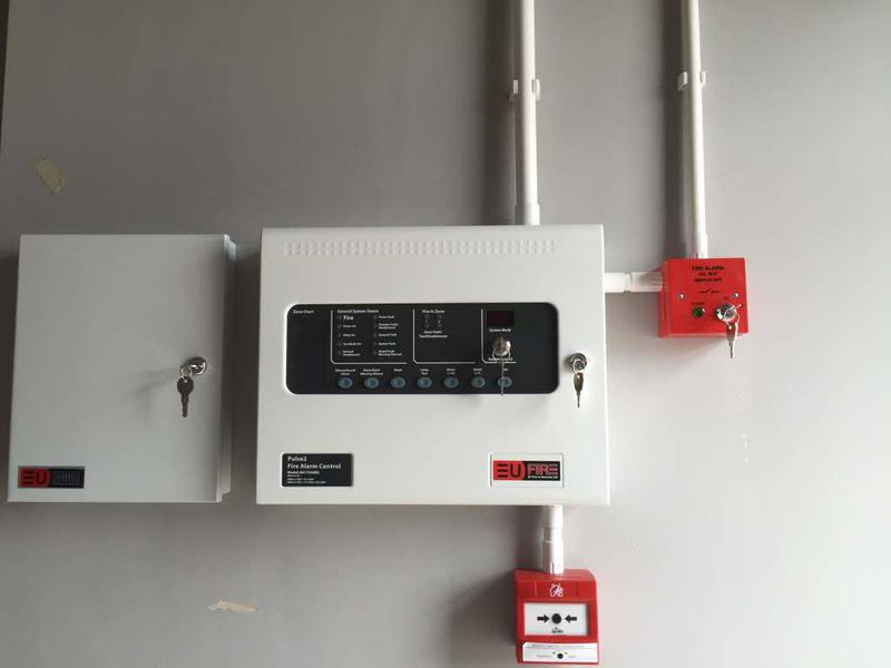 Image 28 - new fire alarm panel installation
