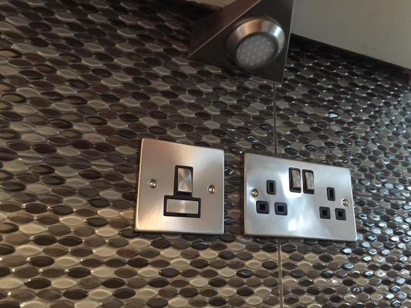 Image 3 - Kitchen sockets & under cupboard LED lighting