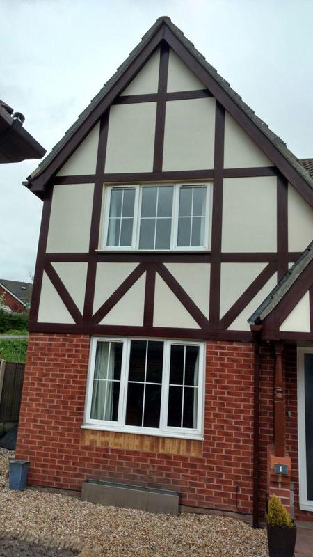 Image 18 - roofline products including tudor boards