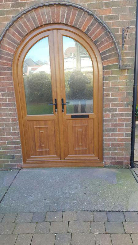 Image 17 - light oak arched door in mansfield