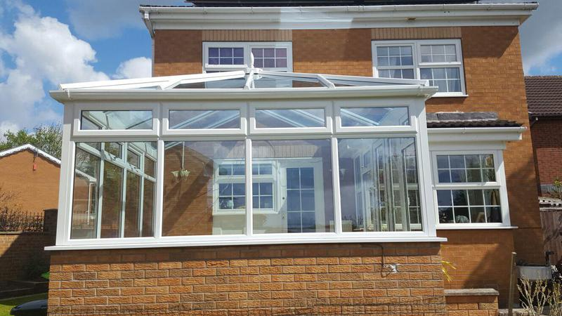 Image 16 - new build conservatory in shipley